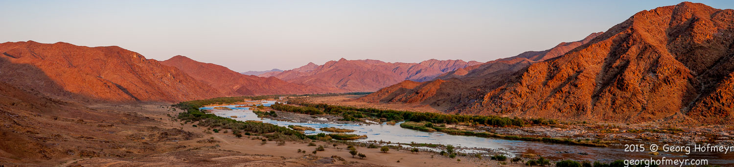 Namibia across the Orange River, Tatasberg Wilderness Camp. Richtersveld National Park, South Africa (Nikon D80 - 1/8 sec at f/16, ISO100 Nikon 18-200mm at 60mm)Orange River at Tatasberg Wilderness Camp CORPORATIO  f/16 1/8sec ISO-100 40mm